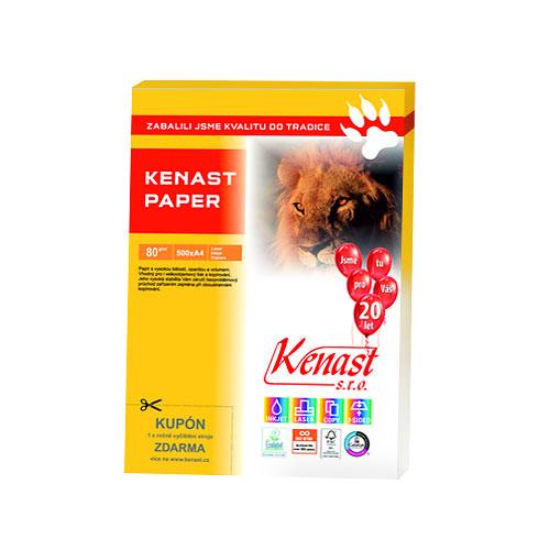 Kvalitní kancelářský papír KENAST Paper 80g