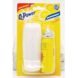 Q-Power minispray - dávkovač 2 x 15 ml / citron