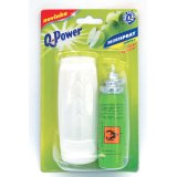Q-Power minispray - dávkovač 2 x 15 ml / jablko