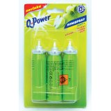 Q-Power minispray - náplň 3 x 15 ml / jablko